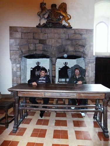 Inside Doune Castle, Doune