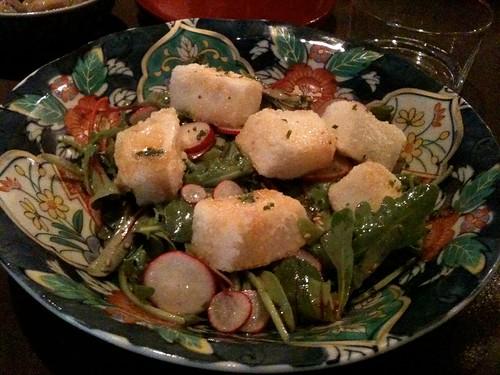 Lengué: Salade de tofu