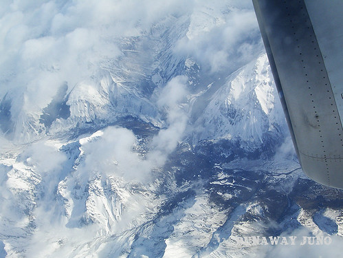 Southern Alps from the air