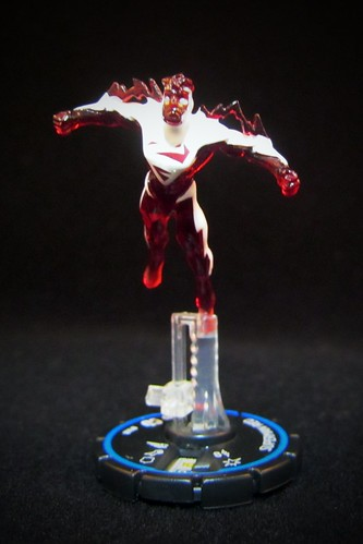 DC HeroClix Collateral Damage #68 Superman Red - Experienced