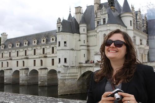 Jen at Chenonceau
