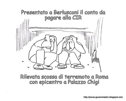 Presentato a Berlusconi il conto della CIR by Livio Bonino