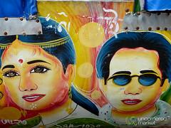 Dollywood Rickshaw Art - Srimongal, Bangladesh (uncorneredmarket) Tags: rickshaw bangladesh dollywood rickshawart srimongal dollywoodactors