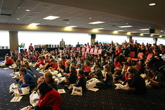 Photograph of Reading Crusade prizegiving