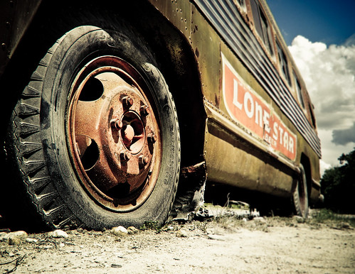 Broken Tire by mynamesdonny