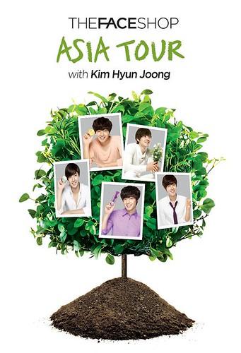 Kim Hyun Joong The Face Shop Asia Tour 2011