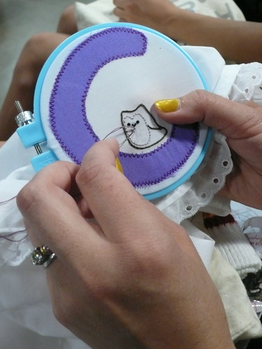 Stitching at Roller Derby