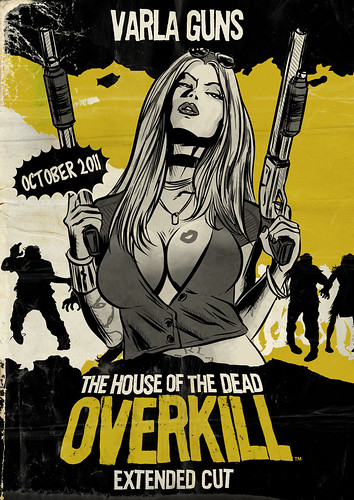 The House of the Dead - Varla Gunns -Box Art
