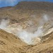 O vulcao Tongariro mostra sua atividade