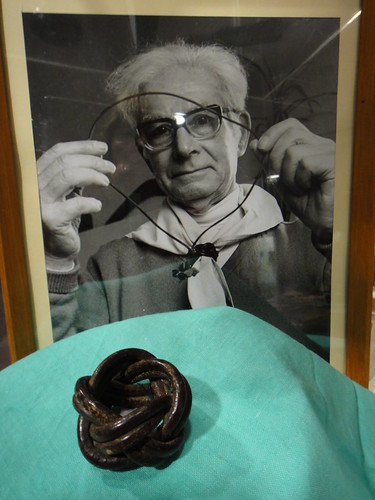 Bill Shankley and Woggle by Tasmanian Scout Heritage Centre