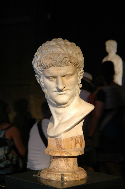 Bust of someone famous during the reign of Emperor Nero