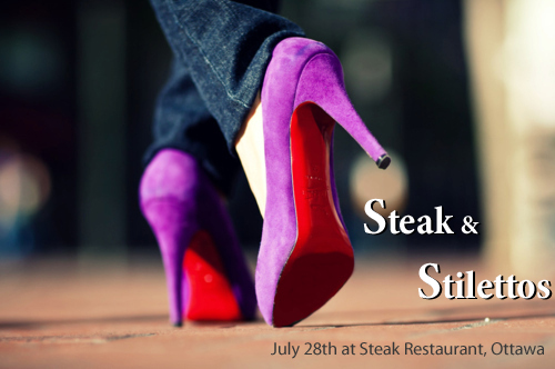 steak n stilettos ad