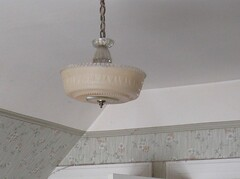 Mike's Ceiling Fixture, before