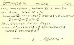 archer archives herbert j erlanger medal collection card index