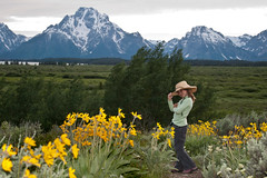 Abbie at The Tetons by Trish McGinity