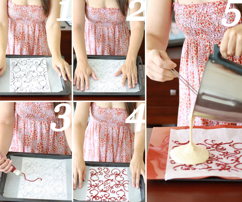receta, recipe, paso a paso,<br /> bizocho, cake, decoración, decorate, fresa, strawberry, helado, icecream, arctic roll