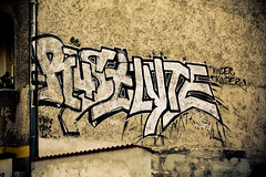 Rust & Lyte (Square Eyes) Tags: berlin canon lite graffiti rust kinder 1998 tvu lyte rcb eos450d ruzd feurigstrase
