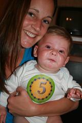 Ezra turns 5 (months)