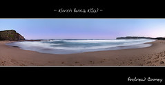 North Avoca, NSW (Andrew Cooney Photography) Tags: ocean sunset sea panorama beach waves wave australia panoramic nsw newsouthwales pan centralcoast avocabeach landscapephotography nikond90 landscapephotographer landscapephoto nikon2470mm photographyworkshops australianlandscapephotography dannyirvine dannyirvinephotography