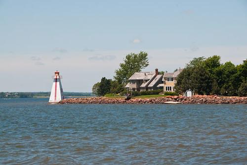 Brighton Beach Range Rear Lighthouse, Charlottetown, Prince Edward Island, Canada