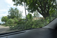 July Central Iowa Storm Damage (Skinny Pete Deux) Tags: storm nikon central july iowa line damage straight winds tornadoe d5100