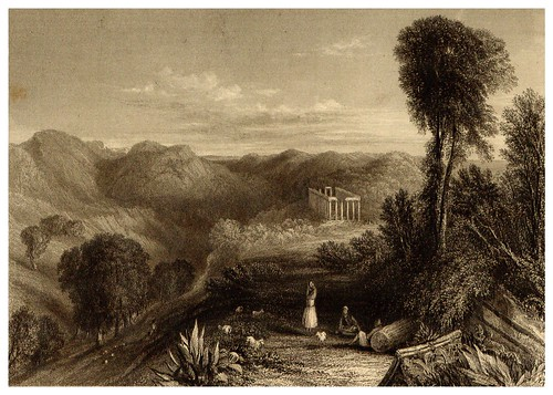014- Templo de Apolo en Bassoe-La Grèce pittoresque et historique 1841- Christopher Wordsworth-© Biblioteca de la Universidad de Heidelberg