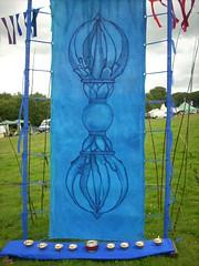 Ritual Space Blue Vajra