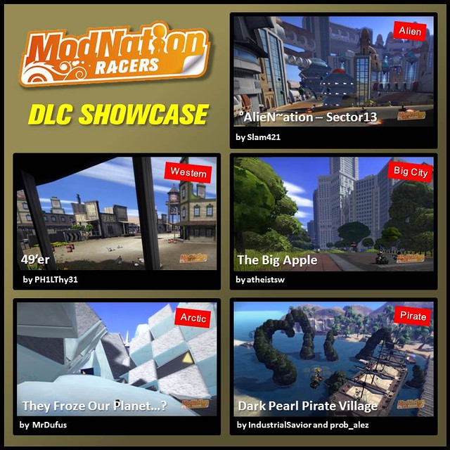 ModNation Racers: dlcshowcase