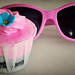 Pink Cupcake...perfect pair