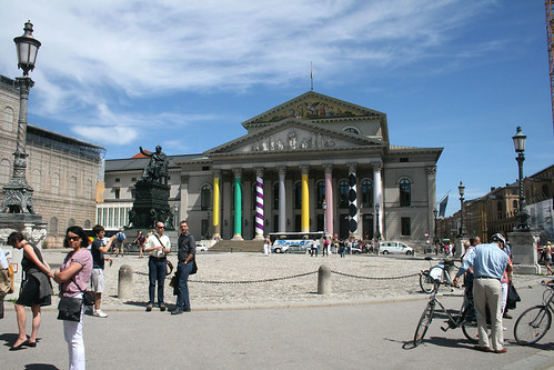 Max-Joseph-Platz & Bayrisches Nationaltheater