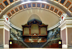 Organ, stage & murals - GVG Imaging