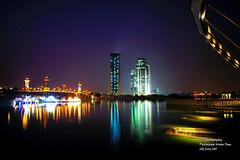 Putrajaya Night Lights (cjlai76) Tags: sunset nightlights malaysia putrajaya selangor cjphotography sony16mm putrajayawaterdam sonynex3 cjlai76 cjlai twilightputrajaya
