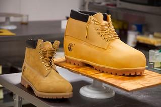 Timberland Sculpted Boot Cake