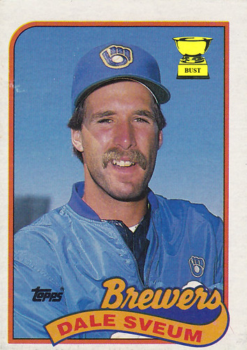 Dale Sveum 1989 Topps Sports