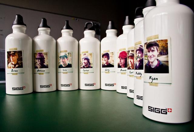Custom SIGG bottles