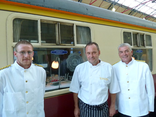Catering Crew on The Pilsner Urquell Express to the British Open 2011