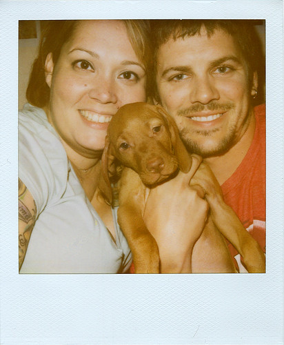 First family Polaroid.