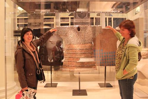 Filomena e Tinne no V&A Museum