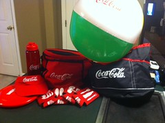Coke beach kit