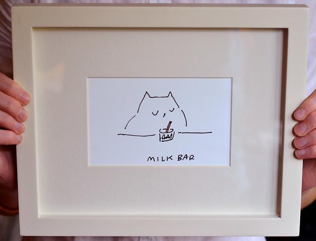 Milk Bar framed 2