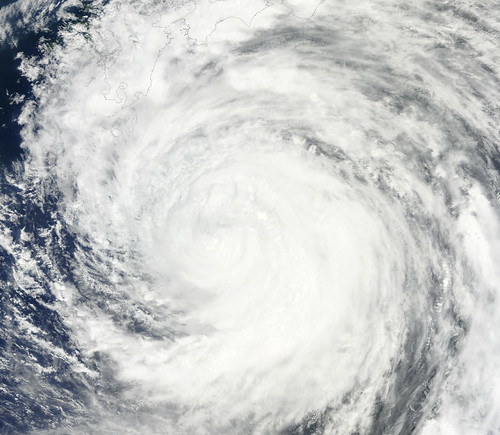 Typhoon Ma-on Near Japan