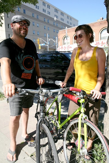 What's it Like Biking on Jarvis? (Do You Know that City Hall Voted to Remove this Bike Lane?)