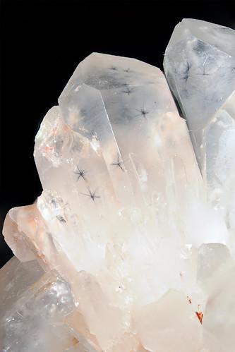 Hollandite in Quartz (Star Quartz)