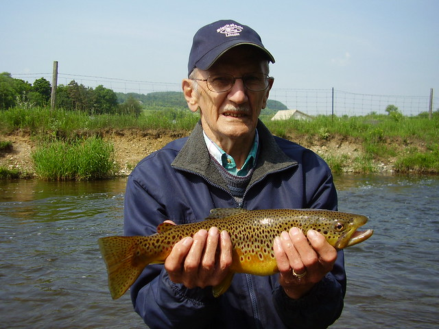 Bill with a nice Brown Trout