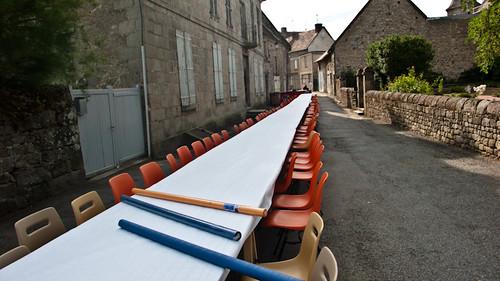 France, Ahun center
