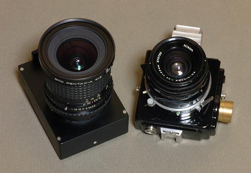Pentax35 VS PCnikkor35