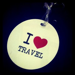 i love travel luggage tag (the juliet report) Tags: luggagetag ilovetravel thejulietreport