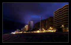 Playa de aro 2011 - The Beach / Night Shot #2 (ACIDIRK ;-)) Tags: strand spain tripod espana hotels costabrava spanien nighshot 2011 playadearo d80 sigma150mm28 platinumheartaward