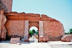 Koutoubia Mosque (cranjam) Tags: gate mosque morocco marocco marrakech walls mura hdr cancello koutoubia moschea koutoubiamosque almohad