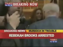 Rebekah Brooks arrested; murdoch in trouble